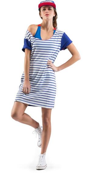 Mons Royale W's Sunset Dress Stripes / Regatta